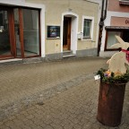 Stadt im Osterkleid