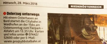 Krone 28.3.2018 Ostewrhasenzug