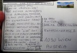Postkarte aus Grönland an Oberhauser