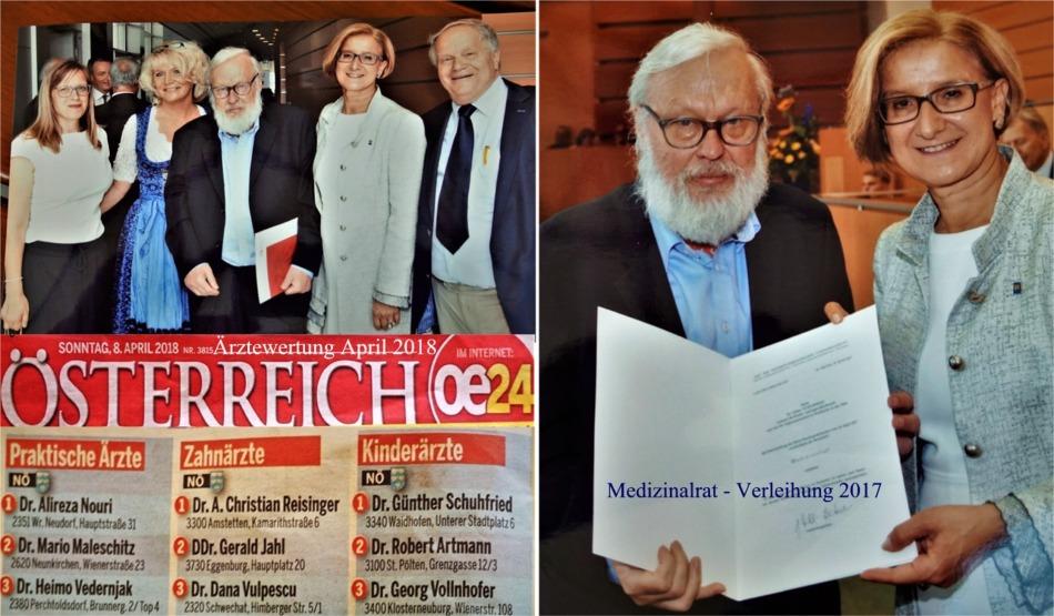 Medizianlarat und Österreich