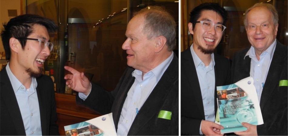Mike Lin und Karl Piaty