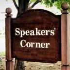 Speakers Corner !