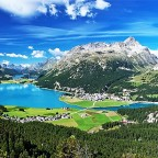 Direkt nach St. Moritz