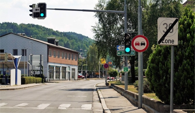 Ybbsitzerstraße 30 Ende