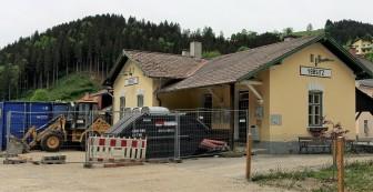 Ybbsitz Bahnhof 1. Mai 2018 4
