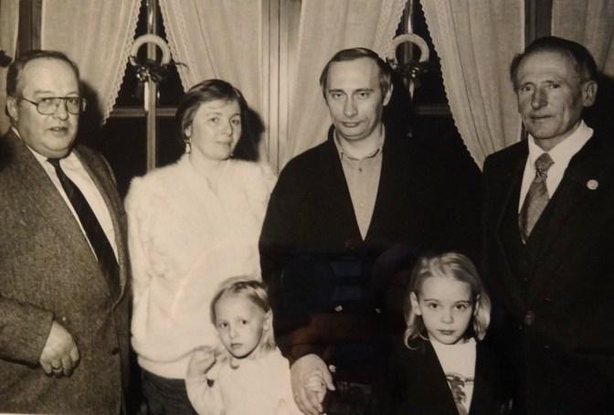 Gusel BGM - Familie Putin - Kurt Zettl - Göstling 1992 Fotograf unbekannt