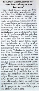 Volkov SPÖ und Mair