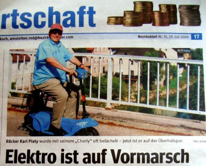 Bezirksblatt 29.7.09. Ausschnittjpg