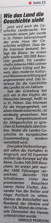 Krone Vergangenheit schätzen 3.10.2018