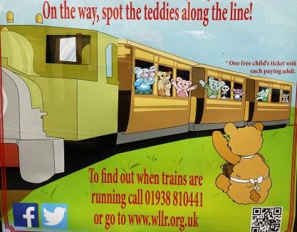 Teddy Plakat nahe