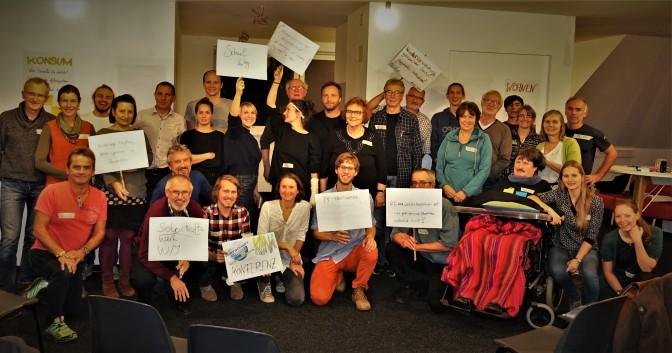 Klimakonferenz Gruppe