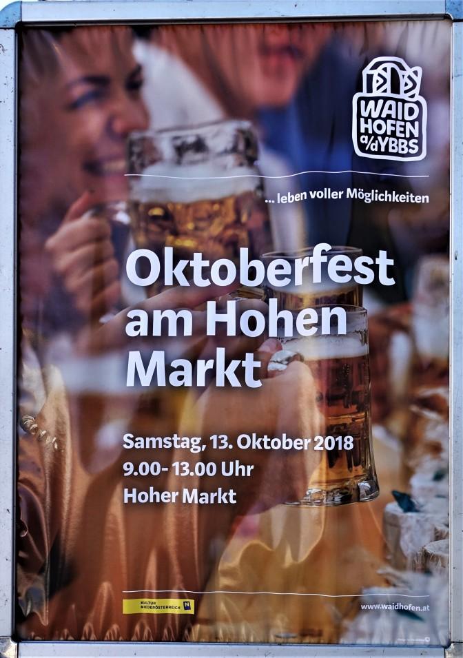 Oktoberfest Plakat