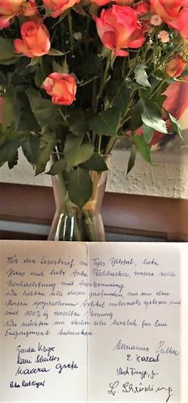 Pöchhacker Billett Nachbarn Rosen -