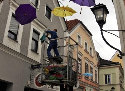 Schirme abnehmen (1)