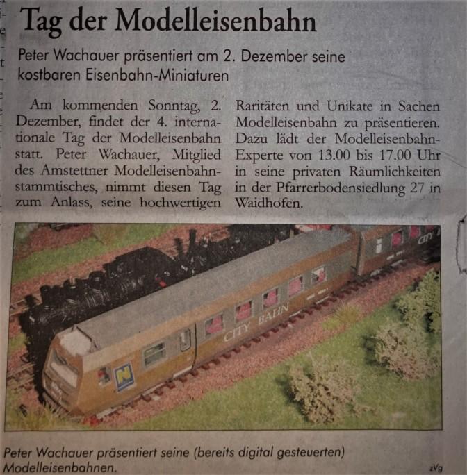 Modelleisenbahn wachauer Ybbstalr