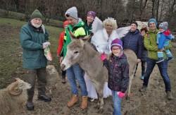 Tierpark mit Christkindl 2018 Gruppe