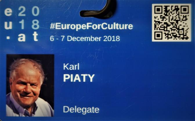 Kongreß Delegate Karl Piaty