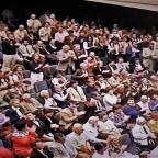 Stadtsaal – überfüllt !