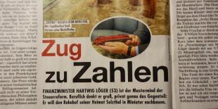 kronenzeitungbericht finanzminister löger