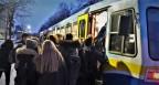 Rush-Hour auf Citybahn