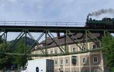 Dampflok in Waidhofen (Viaduktbrücke) (3)