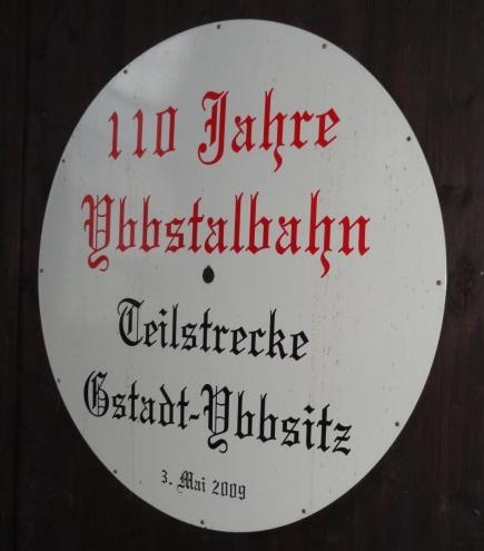 Letzte Jubiläumsfahrt Ybbsitz Plakat (2)