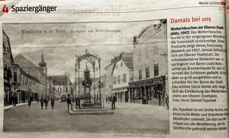 NÖN Wetterhaus 13.3.2019 Topothek