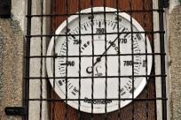 Wetterhäuschwen Instrumente Barometer