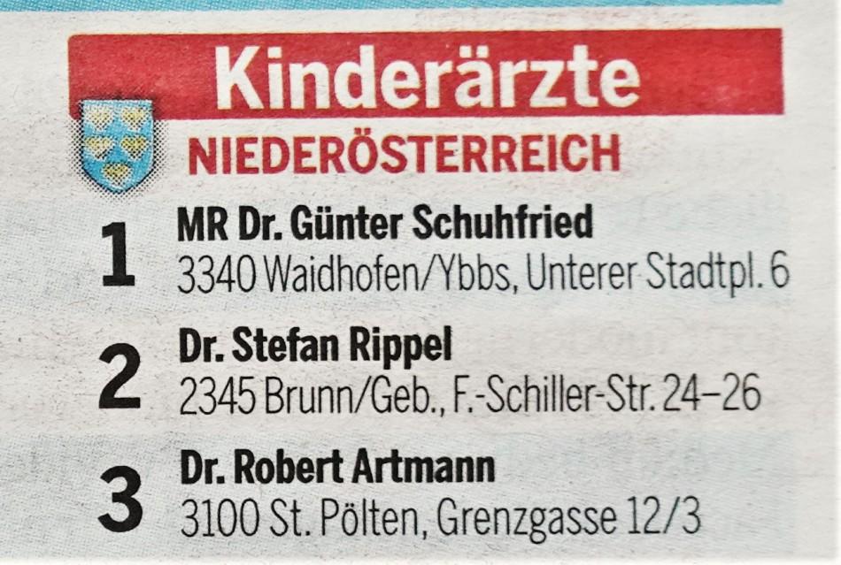 Docfinder nahe Schuhfried