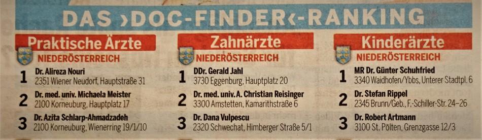 Schuhfried Doc Finder 2019