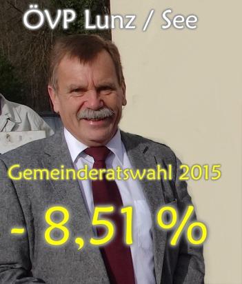 Gemeinderatswahl 2015 Ploderer Lunz