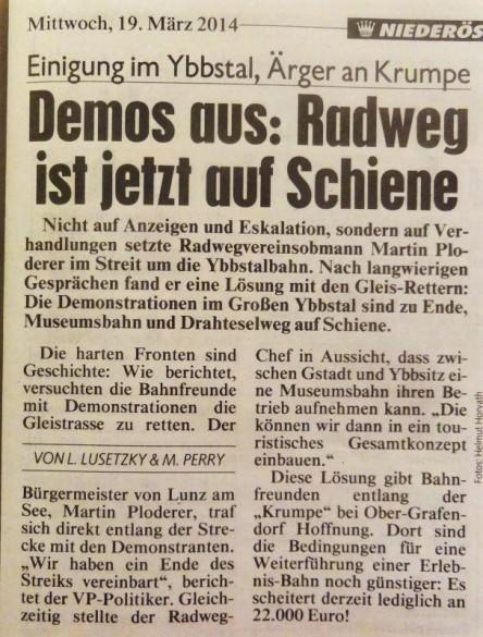 Krone Ybbsitz Ploderer 19.3.2014