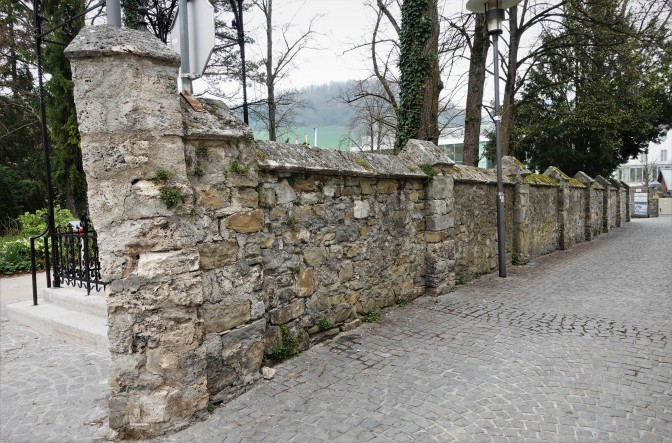Mauer beim Wetterhaus 2019