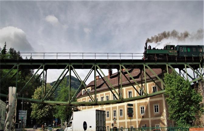 Viadukt Dampflok