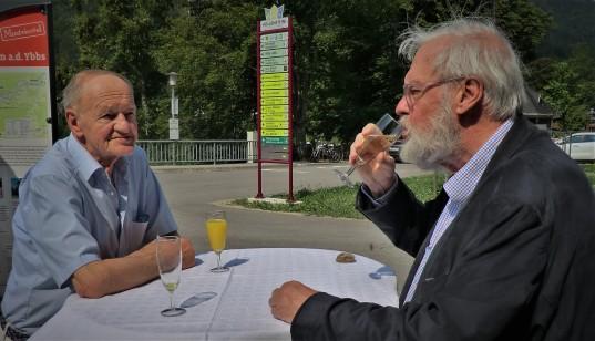 Beim Zeitreisewaggon Schuhfried Reichenecker