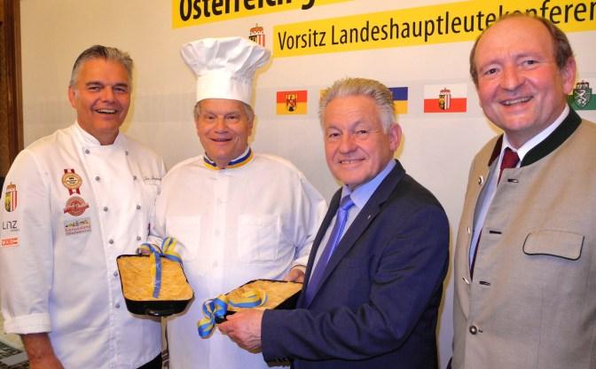 Jindrak, Piaty, LH Pühringer, Fiedler Lanshaus Linz 30.6.2015