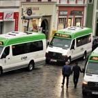 Stadt der Citybusse