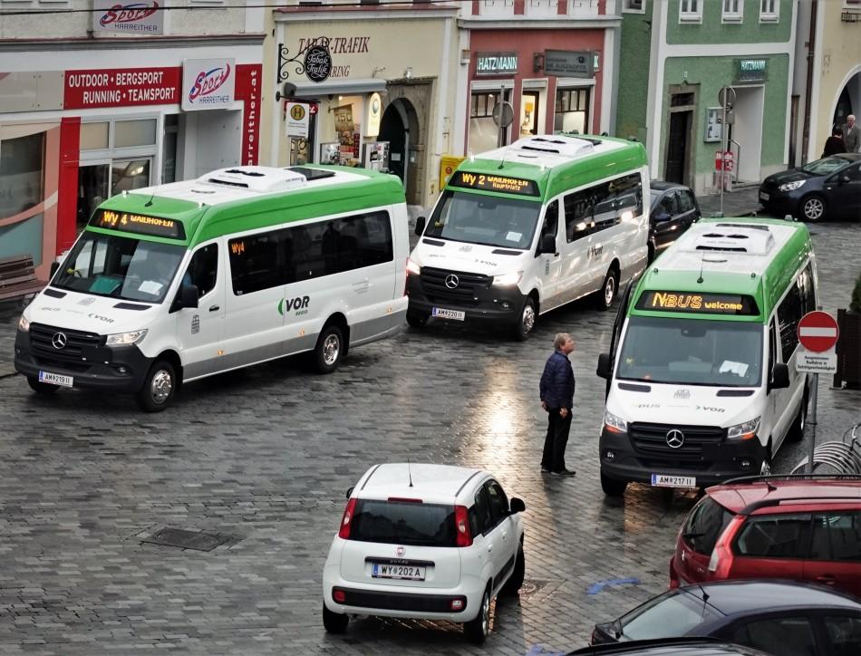 3 Citybusse in Waidhofen 3