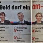 """Parteien zu """"Öffis"""""""