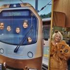 Kinderfreude – Zugfahren