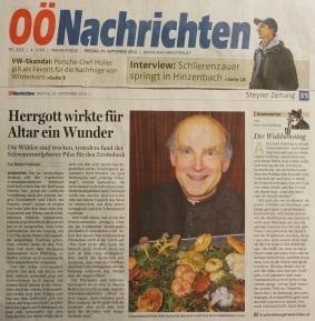 Kittl Schwammerlaltar O.Ö.N. 2015