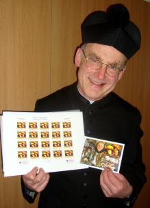 1 Pfarrer Kittl mit Schwammerlsondermarke