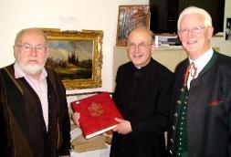 Adi Bläumauer, Pfarrer Kittl , Ernst Thoma. intjpg
