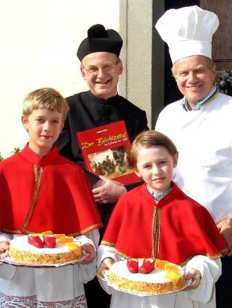 Kittl , Piaty Ministranten Papsttorte Beichtzettel Buch