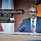 Citybahn im NÖ Landtag