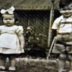 Kinder  um 1944
