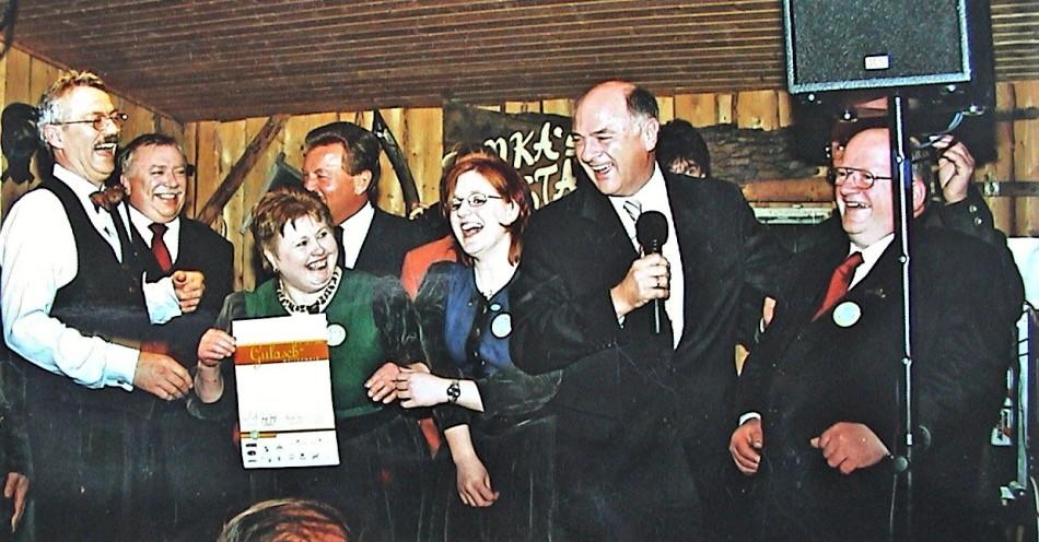 Prosini Sieger im Gulaschwettbewerb