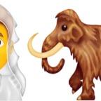 Mammut als Emoji