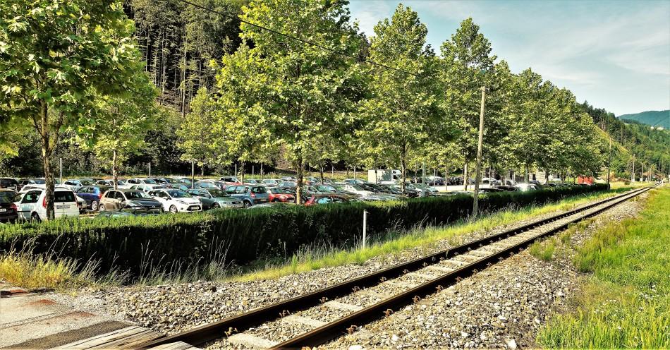 Bene Citybahn Parkplatz