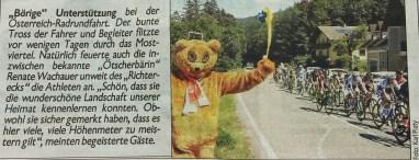 Ötscherbär Kronenzeitung Radrennen 12.7.2016